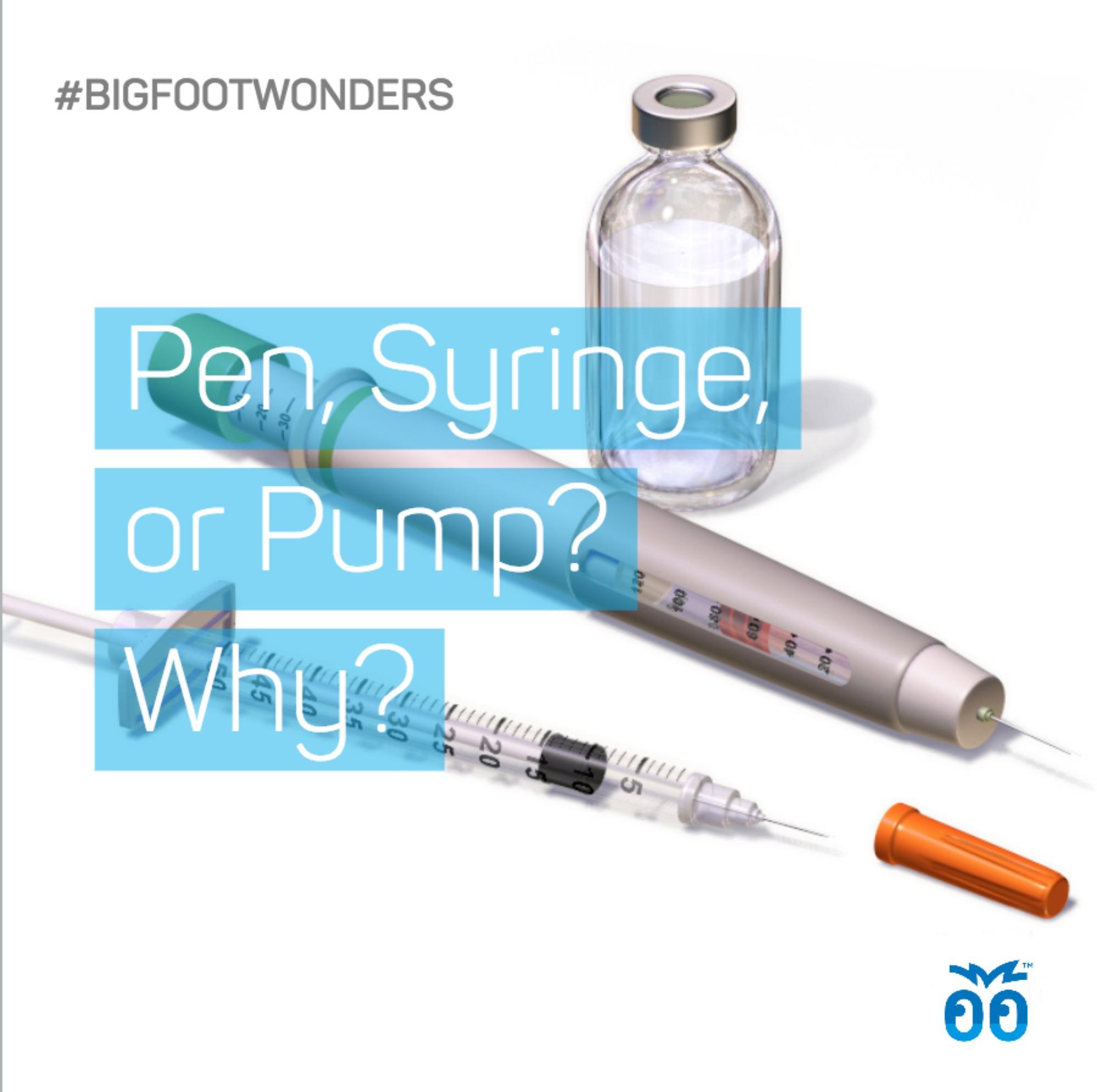 Bigfoot Wonders - Week 004 - Pen Syringe or Pump