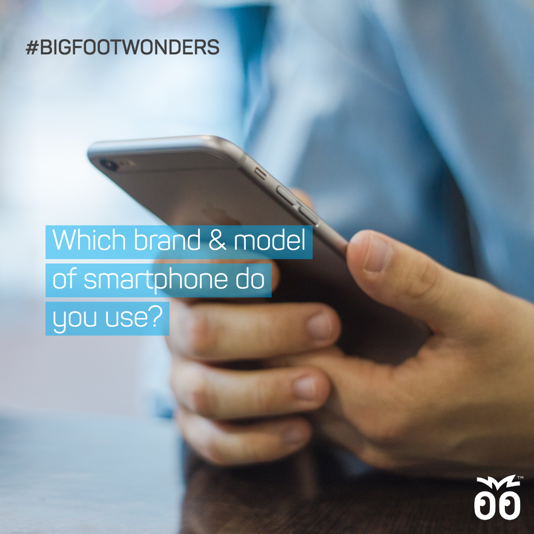Bigfoot Wonders - Week 021 - Which brand and model of smartphone do you use